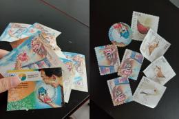 Prangko yang saya beli di kantor pos kota | sumber: dokumentasi dan olahan pribadi