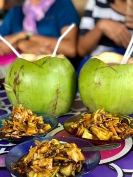Rujak buah di salah satu tempat di Sabang (dokpri)