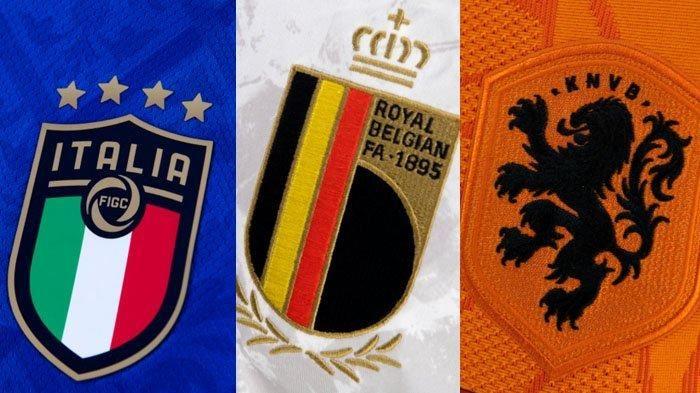 Sejauh ini baru tim Italia, Belgia, dan Belanda yang sudah memastikan diri lolos ke babak 16 besar Euro 2020 (Sumber : aceh.tribunnews.com)