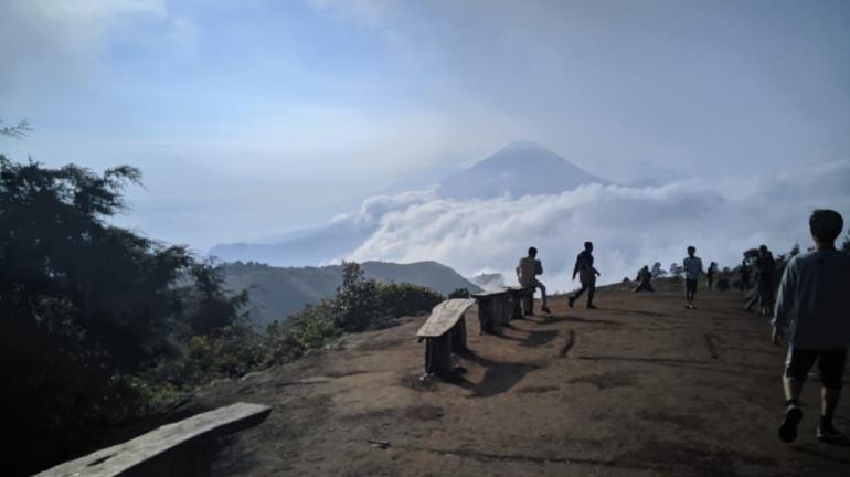 View Gunung Prau (dokpri)