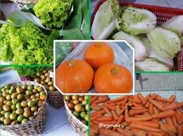 Aneka sayuran segar dari Tarubatang   dokpri Rynari