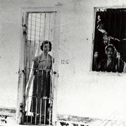 Narapidana perempuan di penjara Bulu, Semarang. (Spaarnestad Photo)