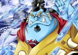 Potret Jinbei yang sudah tiba di Wano dalam anime One Piece episode 980-greenscene.co.id