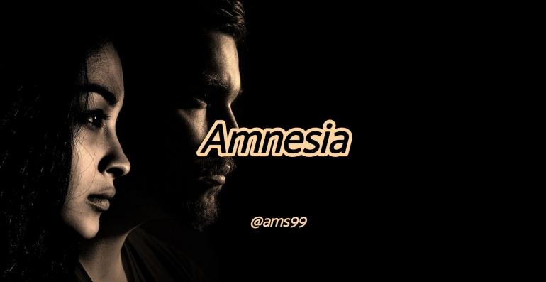 Puisi Amnesia (Dokpri @ams99_By. Text On Photo)