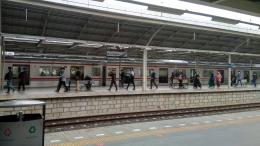 Suasana stasiun Jatinegara, 17 Juni 2021. (Dok. Pribadi/Efrem Siregar)