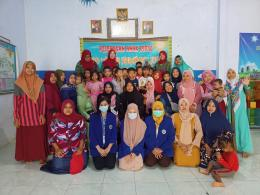 Peserta KKN Desa Juwet Universitas Negeri Malang beserta Guru, Wali Murid, dan Siswa/Siswi Paud Tunas Harapan/dokpri