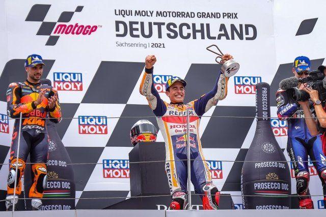 Podium MotoGP sachsenring 2021, sumber : https://img.okezone.com/