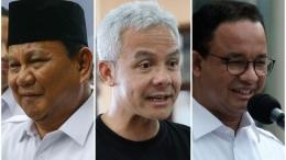 Tiga kandidat capres 2024 (Prabowo, Ganjar dan Anies)/foto: doc.detikcom