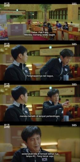 Adegan Racket Boys Episode 5 sindir Indonesia (SBS)