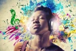 Musik memberi manfaat untuk kesehatan hati dan pikiran. Ilustrasi: fluentu.com
