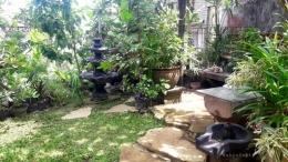 Cara membuat taman sederhana yang indah dan asri di rumah. | Foto: Dokumentasi Pribadi/Kompasianer Wahyu Sapta.