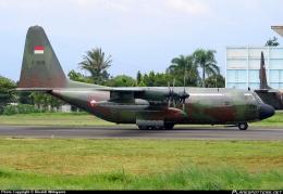 Satu-satunya pesawat AAR tipe KC-130B yang dioperasikan TNI AU (credit to Rinaldi Wibiyanto)