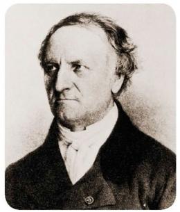 Antoine-Jerome Balard, Apoteker Prancis yang menemukan Brom. Sumber: buku Periodic Table Book - A Visual Encyclopedia, hlm. 185.