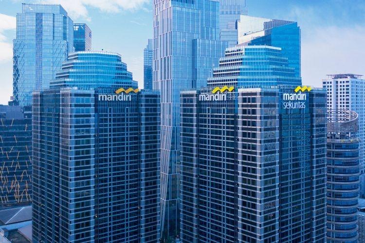 Ilustrasi Bank Mandiri| Sumber: Shutterstock via Kompas.com