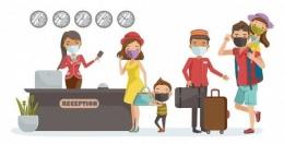Mari kita terapkan 5 tips traveling aman di era new normal ini demi kebaikan bersama (Ilustrasi: freepik.com)