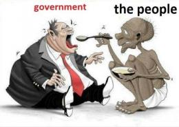 Ilustrasi model kapitalisme modern. Foto: lantainews.com.