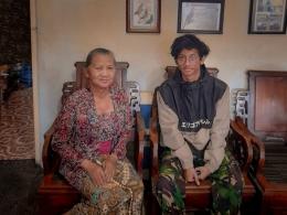 Penulis dengan Siti Sukastiyah (dokpri)