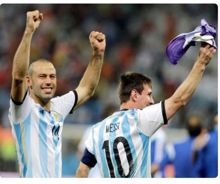 Mascherano bersama Messi. Foto via Sport.ndtv.com