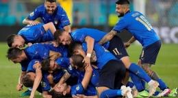 Italia di Euro 2020 berubah banyak sejak gagal lolos ke Piala Dunia 1998. (Sumber: Report Wire Online)