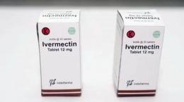 Obat Ivermectin yang diproduksi Indofarma (suarasurabaya.net).