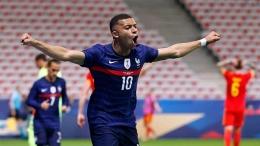 Kylian Mbappe, salah satu pemain timnas Prancis pada gelaran Euro 2020 - Sumber: Tempo.co