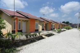 Ilustrasi rumah subsidi| Sumber: Dokumentasi PPDPP Kementerian PUPR via Kompas.com