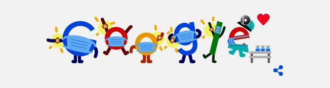 Tampilan Google Doodle, Selasa 22 Juni 2021. Sumber: Screenshot/google.com/doodles