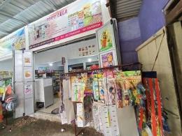 dokpri : usaha toko sembako Mbak Lela