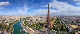 Menara Eiffel dan Pemandangan Kota Paris (sumber: detik.com)