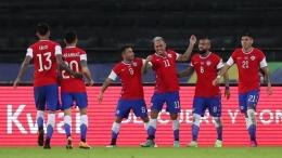 Timnas Chile tersandung skandal di tengah turnamen Copa America 2021; Sumber: BUDA MENDES/GETTY IMAGES/Via Detik.com