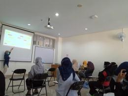Sabtu (19/06/21) mata kuliah Microteaching berlangsung secara tatap muka.