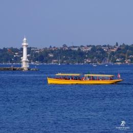 Panorama Danau Jenewa. Sumber: koleksi pribadi