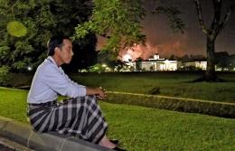 Presiden Joko Widodo di Istana Bogor