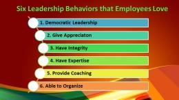 6 Perilaku Pemimpin (Sumber Dokumen pribadi)