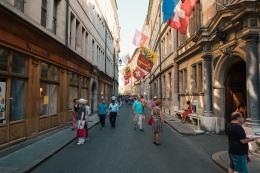 Jalan di Kota Tua Jenewa. Sumber: Bryan Schaub/ Geneve Tourisme