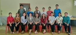 Foto Bersama Mahasiswa PLP dengan Mgr. Fransiskus T. S. Sinaga [Dok. Pribadi]