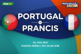 (Portugal VS Prancis Dok: bola.net)