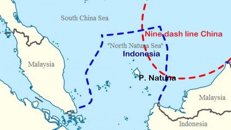 Ini Klaim China Atas Laut Natuna Indonesia – MiliterMeter.com