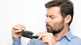 ilustrasi rambut rontok - Sumber: Okezone
