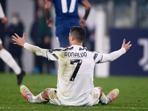 (Ronaldo/pencetak gol penyelamat Portugal Dok: timesnownews.com)