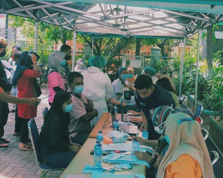 Vaksinasi Untuk Seluruh Warga Sunter Agung, Tanjung Priok, Kota Jakarta Utara (Sumber: dokpri)