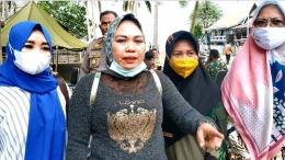 Sri Yuliani SE, Lurah Bontobangung, Dok TMMD Ke 111 Selayar