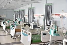 Mau berbaring di kamar rumah sakit? Aku sih ogah, yuk olahraga, jaga pola makan, dan patuhi prokes (foto dari RSUI via megapolitan.kompas.com)