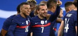 Timnas France di ajang EURO 2020