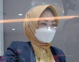 Pakai hijab berbahan bagus. Dokpri
