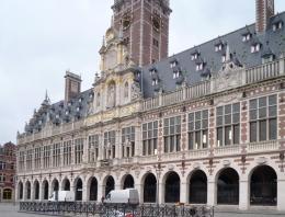 Perpustakaan kampus KU Leuven di Belgia (Dokumentasi pribadi)