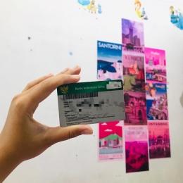 Tampilan depan kartu BPJS milik pribadi