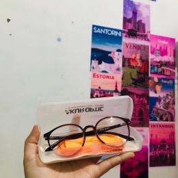 Berikut kacamata saya yang sebagian besar biayanya di cover oleh bpjs  Sumber: Dokumentasi pribadi