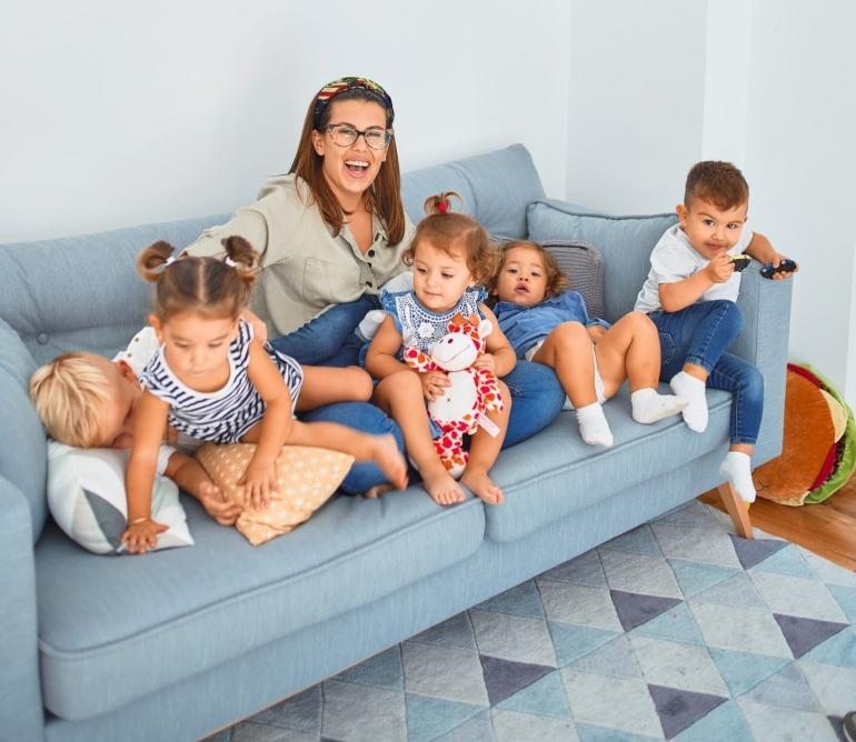 Ungkapan banyak anak banyak rezeki tergantung dari bagaimana kita memandang rezeki itu (unsplash.com/krakenimages)