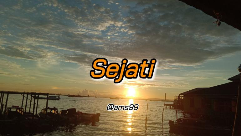 Puisi Sejati (Dokpri @ams99_By. Text On Photo)